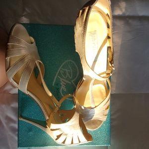 Blue by Betsy Johnson Silver Dress Sandal